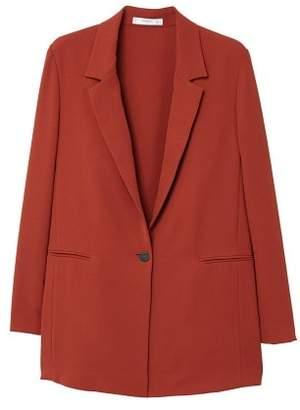 MANGO Unstructured flowy blazer