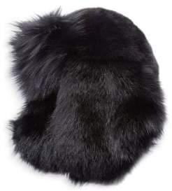 Saint Laurent Fox Fur Chapka Hat