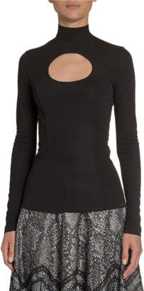 Andrew Gn Keyhole-Front Jersey Top