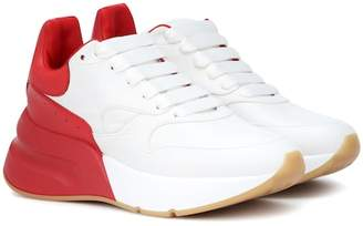 Alexander McQueen Oversized Runner leather sneakers