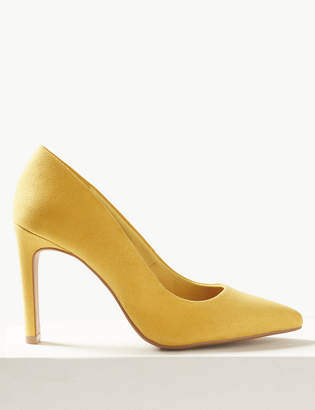 Marks and Spencer Stiletto Heel Pointed Toe Court Shoes