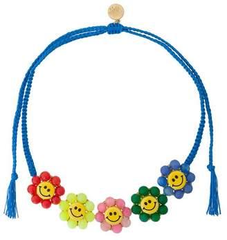 Venessa Arizaga smiley flowers necklace