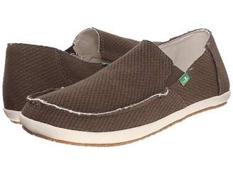 Sanuk Rounder Hobo Hemp Men's Slip on Shoes