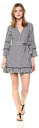 The Fifth Label Women's Long Sleeve Short Wrap Dress
