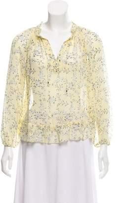 Ulla Johnson Rosine Floral Long Sleeve Blouse w/ Tags
