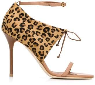 Malone Souliers By Roy Luwolt Johana leopard-print sandals