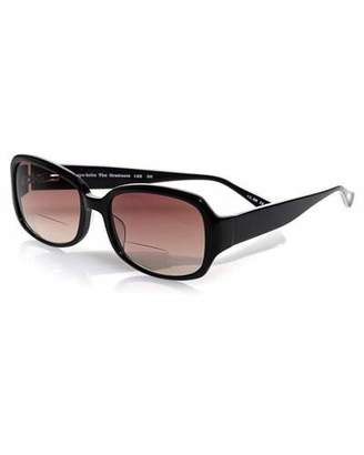 Eyebobs Graduate Square Sun Readers, Black/White