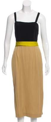 Vionnet Sleeveless Knee-Length Dress w/ Tags