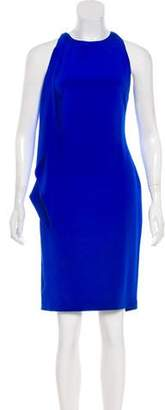 Cushnie et Ochs Draped Silk Dress