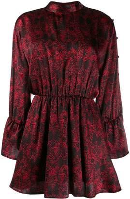 FEDERICA TOSI pleated mini dress