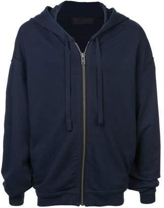 Haider Ackermann classic zipped hoodie