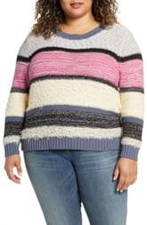 Caslon Marl Stripe Sweater