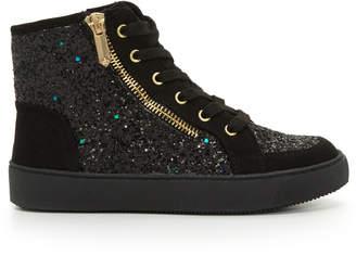 Sam Edelman Girls Britt High-Top Sneaker