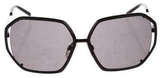 Gianfranco Ferre Oversize Tinted Sunglasses