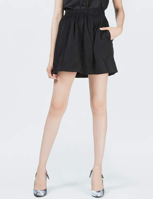 O'2nd 1 by Black Empire Pleats Skirt