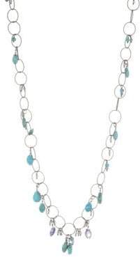 Chan Luu Grey Mix Chain Necklace