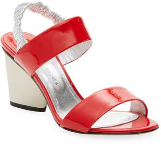 Paul Andrew Patent Slingback Sandal