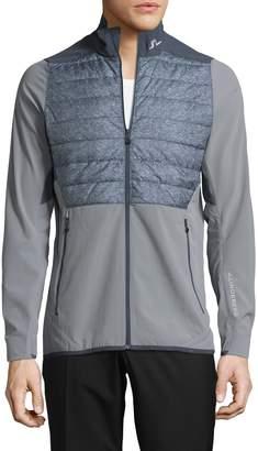 J. Lindeberg Active Men's Hybrid Windbreaker Jacket
