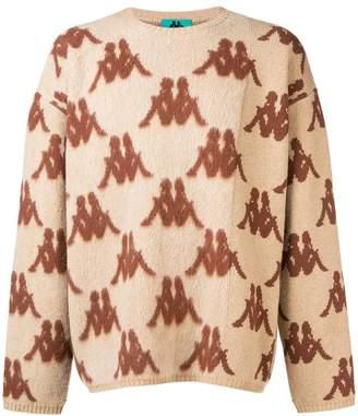 Paura DANILO X KAPPA all-over logo sweater