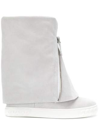 Casadei fold down wedge boots