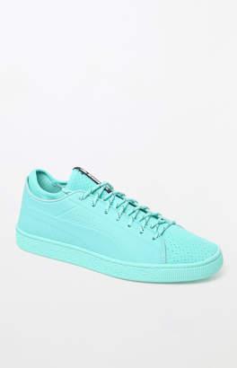 Puma x Diamond Supply Co Basket Sock Lo Mint Shoes