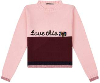 Ermanno Scervino Love This Embellished Sweater