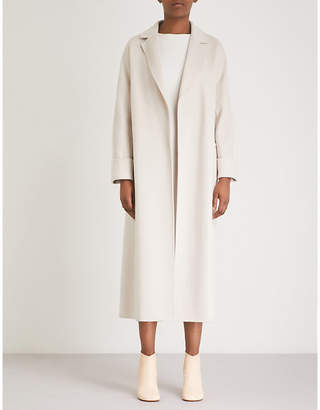 Max Mara S Algeri wool wrap coat