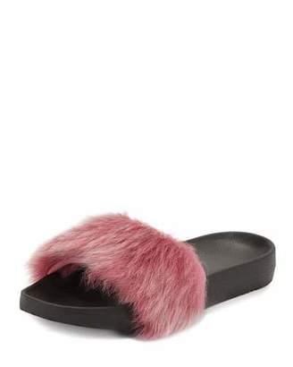 UGG Royale Toscana Fur Pool Slides, Pink