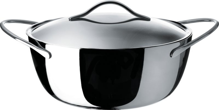 Alessi Domenica, casserole with two handles