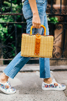 Audrey Picnic Basket by Free People $78 thestylecure.com