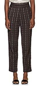 Ace&Jig Women's Gatsby Geometric-Pattern Cotton Pants - Navy