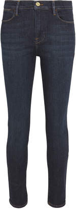 Frame Le High Skinny Crop Jeans