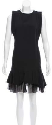 Aquilano Rimondi Aquilano.Rimondi Sleeveless Ruffle-Tiered Dress