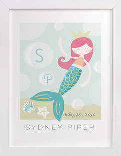 sirens song Children's Custom Art Print