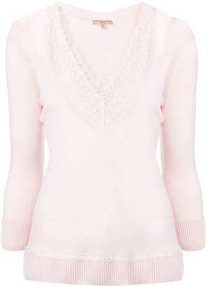 Ermanno Scervino longsleeved lace T-shirt