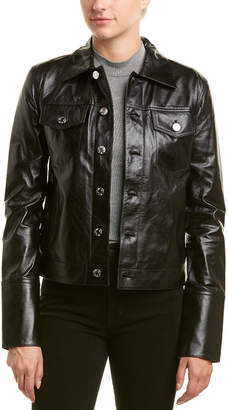 Helmut Lang Detail Leather Jacket