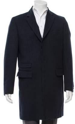 HUGO BOSS Boss by Felted Wool Overcoat