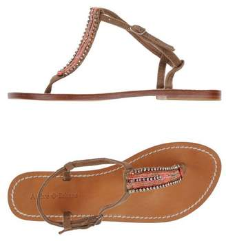 Ambre Babzoe Toe post sandal