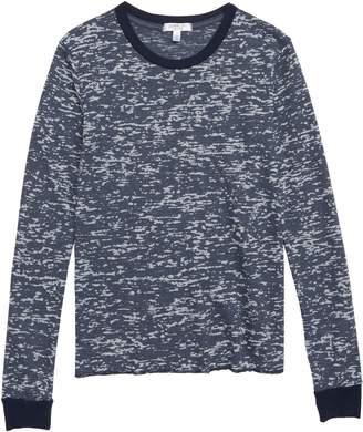 Joah Love Burnout Thermal Shirt