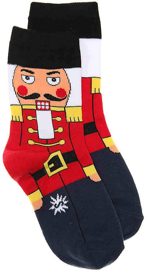 Sock It To Me Nutcracker Toddler & Youth Crew Socks - Boy's