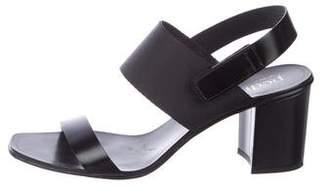 Pedro Garcia Leather Strap Sandals