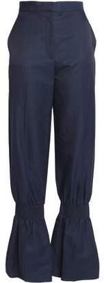 Stella McCartney Shirred Wide-Leg Pants