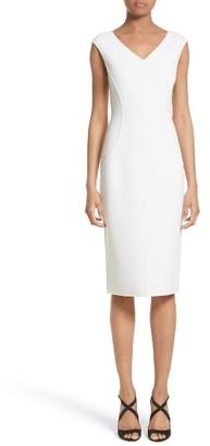 Women's Michael Kors Stretch Boucle Sheath Dress $1,750 thestylecure.com