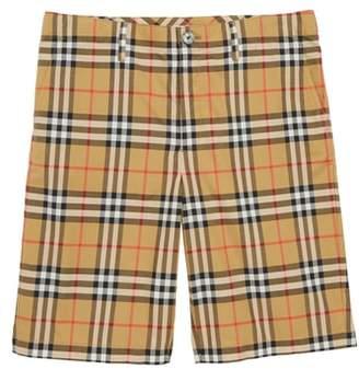 Burberry Tristen Check Shorts