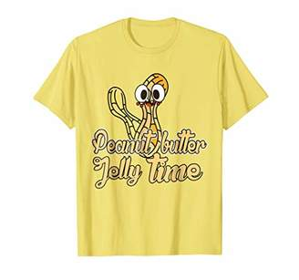 Butter Shoes Peanut Jelly Time T-Shirt Funny Peanut Tee