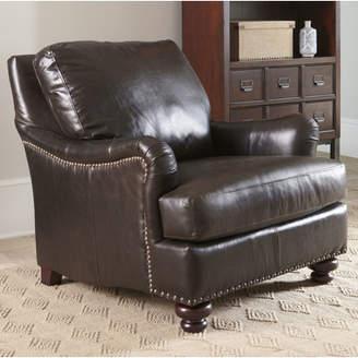 Birch Lane Montgomery Leather Club Chair