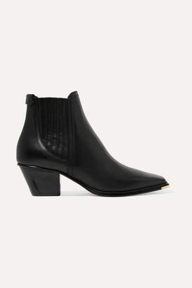 Jimmy Choo Mitzi 60 Leather Ankle Boots - Black