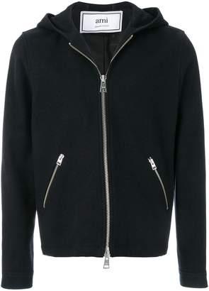 Ami Alexandre Mattiussi Zipped Hooded Jacket
