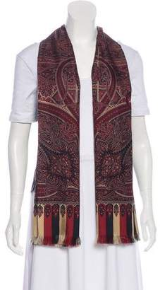 Hermes Silk Paisley Vest