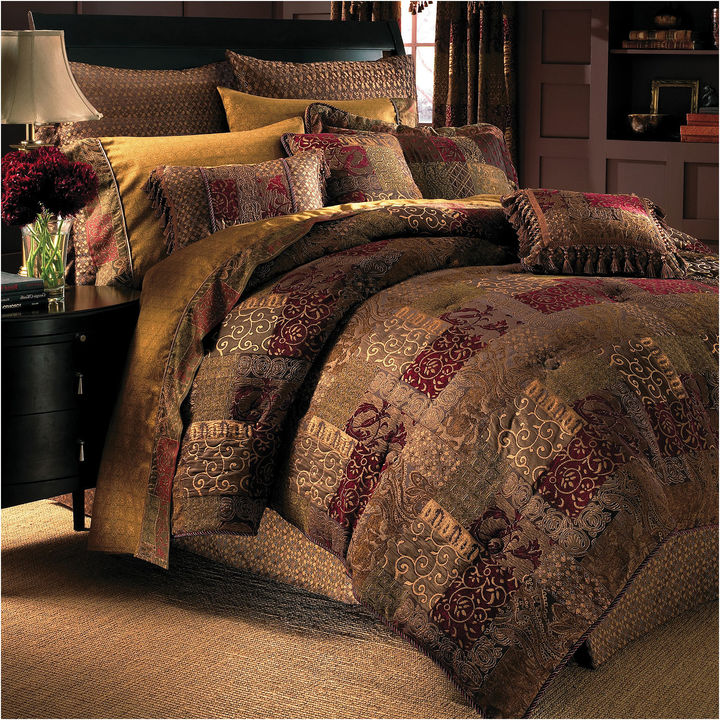 Croscill Croscill Classics Catalina Red 4-pc. Chenille Comforter Set